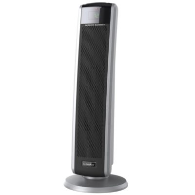 front view of Lasko Digital Ceramic Tower Heater with Remote Control Model CT30786