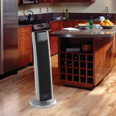 Lasko, Digital Ceramic Tower Heater with Remote Control, Model CT30786, In modern kitchen