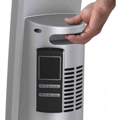 Handle of Lasko Digital Ceramic Tower Heater with Remote Control Model CT30786