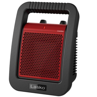 lasko Ceramic Utility Heater with Adjustable Thermostat model CU12110 front