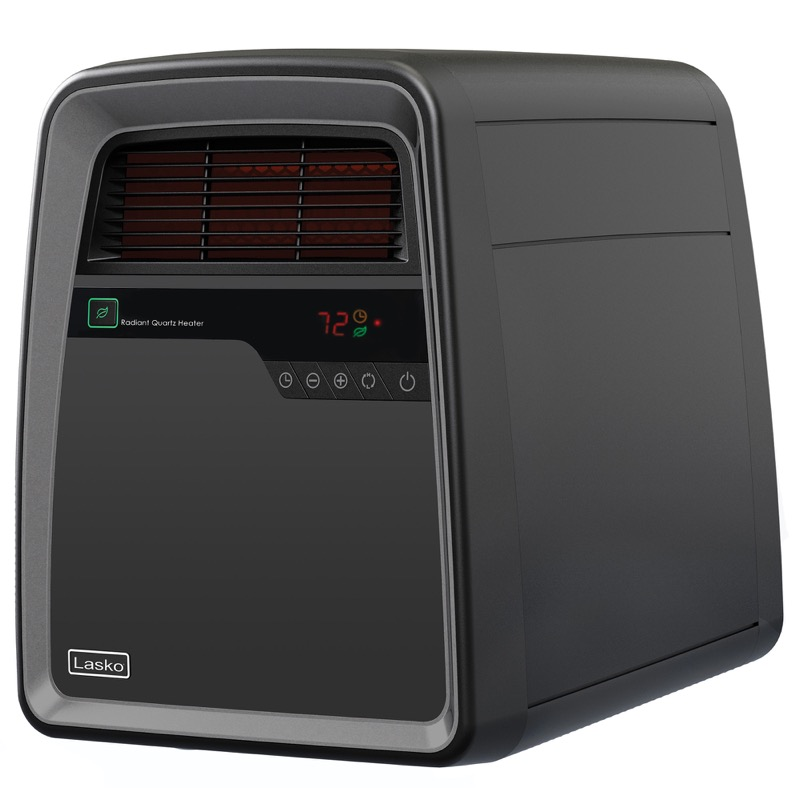 lasko Cool-Touch Infrared Quartz Heater with Remote Control model QB16103 front