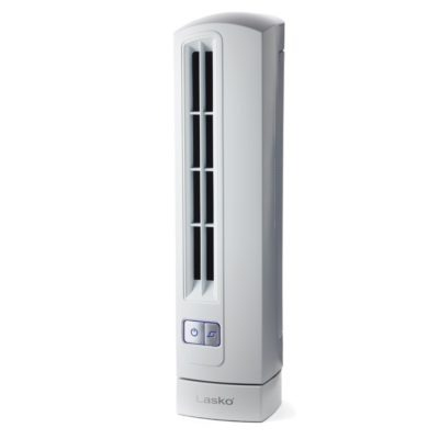 Lasko Air stik Ultra slim Oscillating Fan White Model T14100