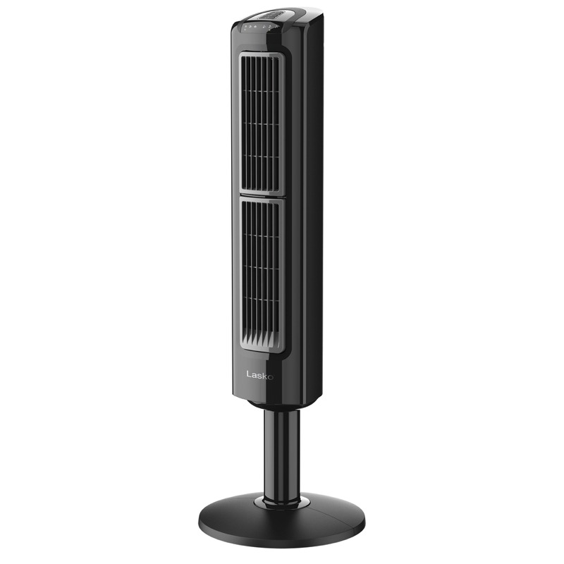 lasko Oscillating Tower Fan with Twin Grills model T38301