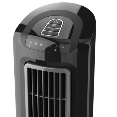 lasko Oscillating Tower Fan with Twin Grills model T38301 controls