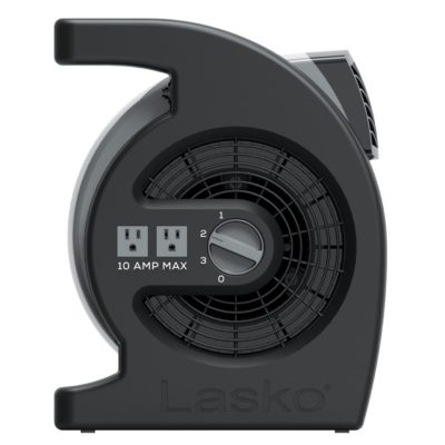 Controls for lasko Max Performance Pivoting Utility Blower Fan model U15720