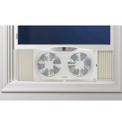 Reversible Twin Window Fan W Remote Lasko Products
