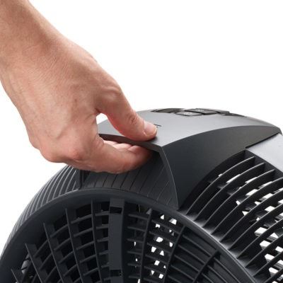 lasko 20″ Cyclone® 4-Speed Fan with Remote Control model A20562 carry handle