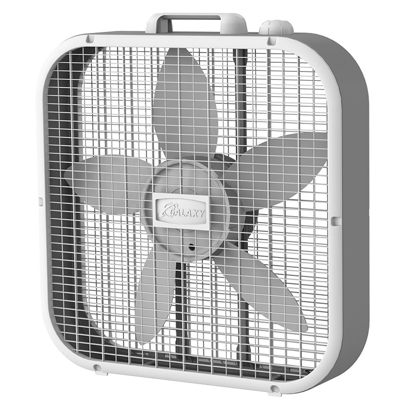 Front view of Lasko GALAXY® 20″ Box Fan model B20100