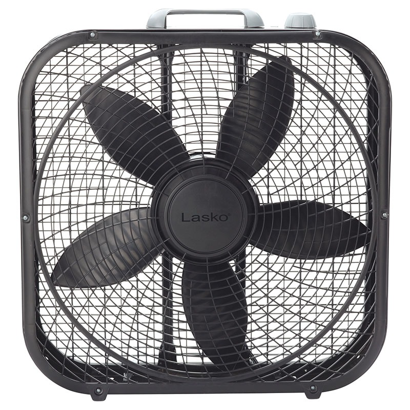 20 U2033 Cool Colors Box Fan  U2013 Black