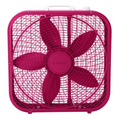 Cool Colors 20 Box Fan Fuchsia Lasko Products