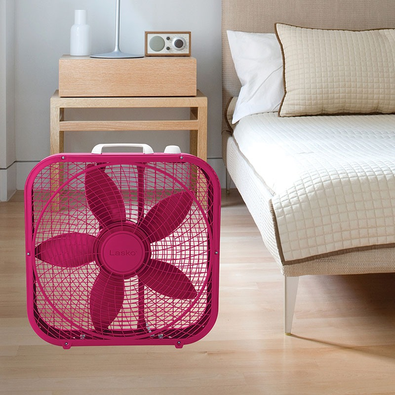 Cool Colors 20 U2033 Box Fan  U2013 Fuchsia