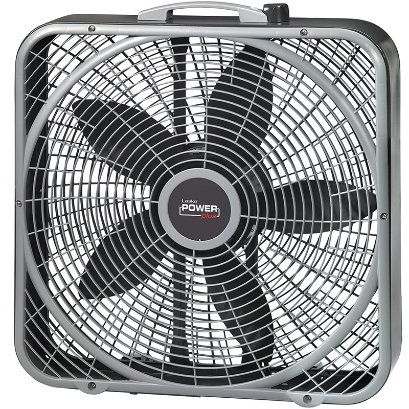 "lasko 20"" Power Plus Box Fan model b20540 front"