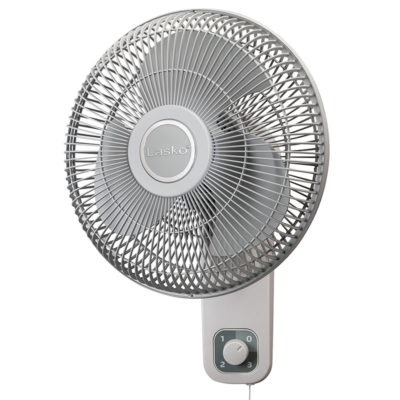 12 Wall Mount Fan With Anti Rust Grills Lasko Products