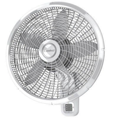 18 u0026quot  oscillating wall mount fan with remote lasko products