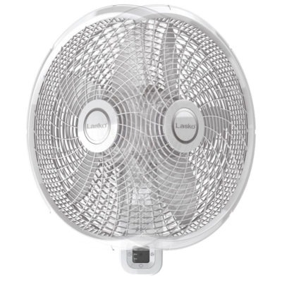 18 Oscillating Wall Mount Fan With Remote