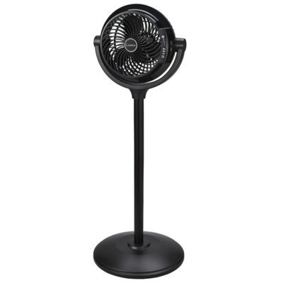 lasko 34″ Compact Power Pedestal Fan with Remote Control model S08600 front