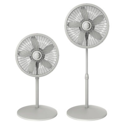 lasko 18″ Adjustable Cyclone® Pedestal Fan model S18902 adjustable heights