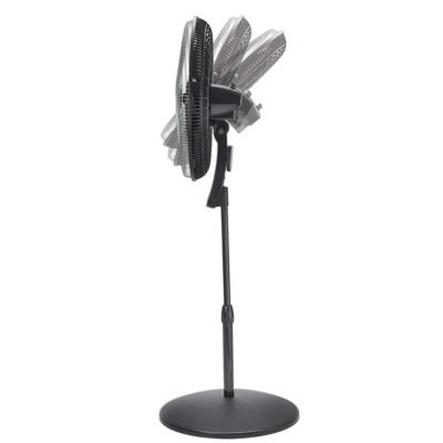 "pivoting Lasko 20"" Oscillating Remote Control Pedestal Fan model S20610"