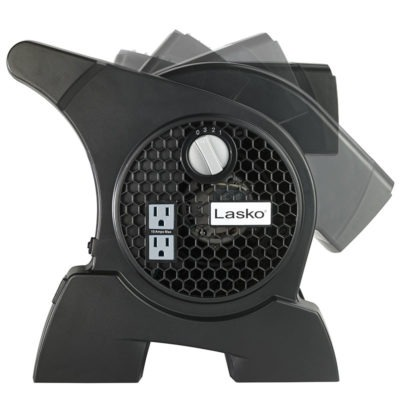 lasko Pro-Performance High Velocity Blower Utility Fan model U15600 side pivot