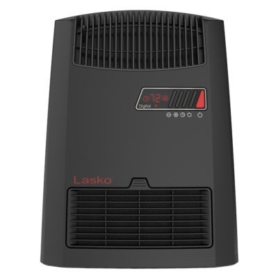 Front View of Lasko Digital Ceramic Heater with Warm Air Motion Technology Model CC13700