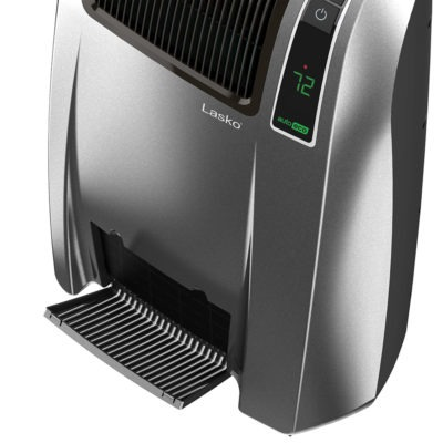 Filter View of Lasko Cyclonic Digital Ceramic Heater with Remote Control Model CC24846