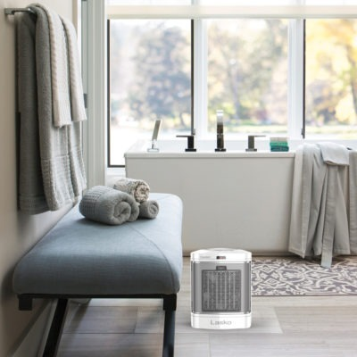 CD08210 Lasko Ceramic Bathroom Heater and Fan