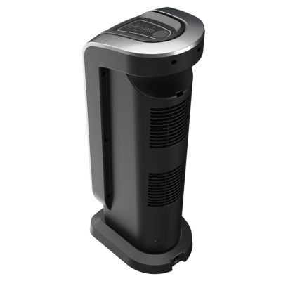 Back view of Lasko Ceramic Tower Heater with AutoEco Technology and Remote Model CT22425