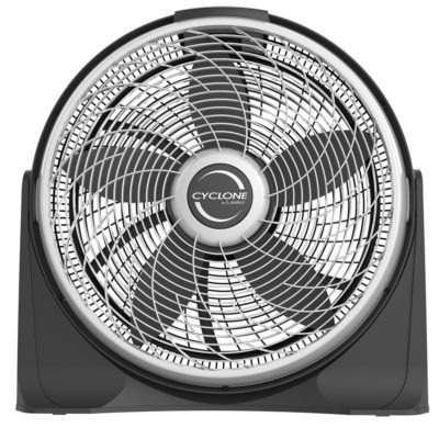 front view Lasko Cyclone Power Air Circulator Fan, model A20566