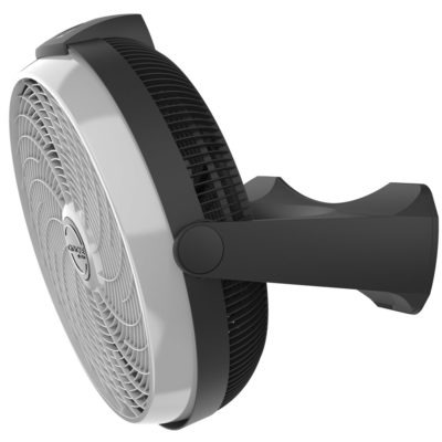 wall mount view of Lasko Cyclone Power Air Circulator Fan model A20566