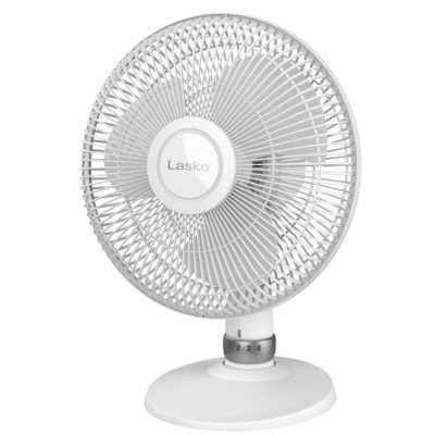 Lasko White Performance Table Fan, model D12225