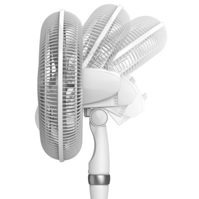 tilt back fan head diagram of Lasko Performance Pedestal Fan model S16225