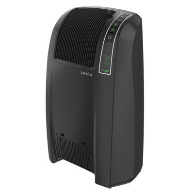 Lasko Cyclonic Digital Ceramic Heater, Model 5868, tilted left