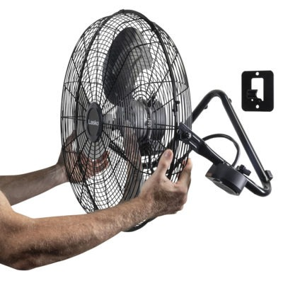 wall mount option for Lasko Commercial Remote Control High Velocity Floor or Wall-Mount Fan Model H20660