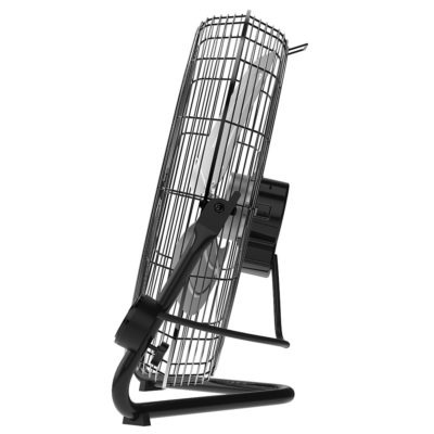 side view of Lasko Commercial Remote Control High Velocity Floor or Wall-Mount Fan Model H20660