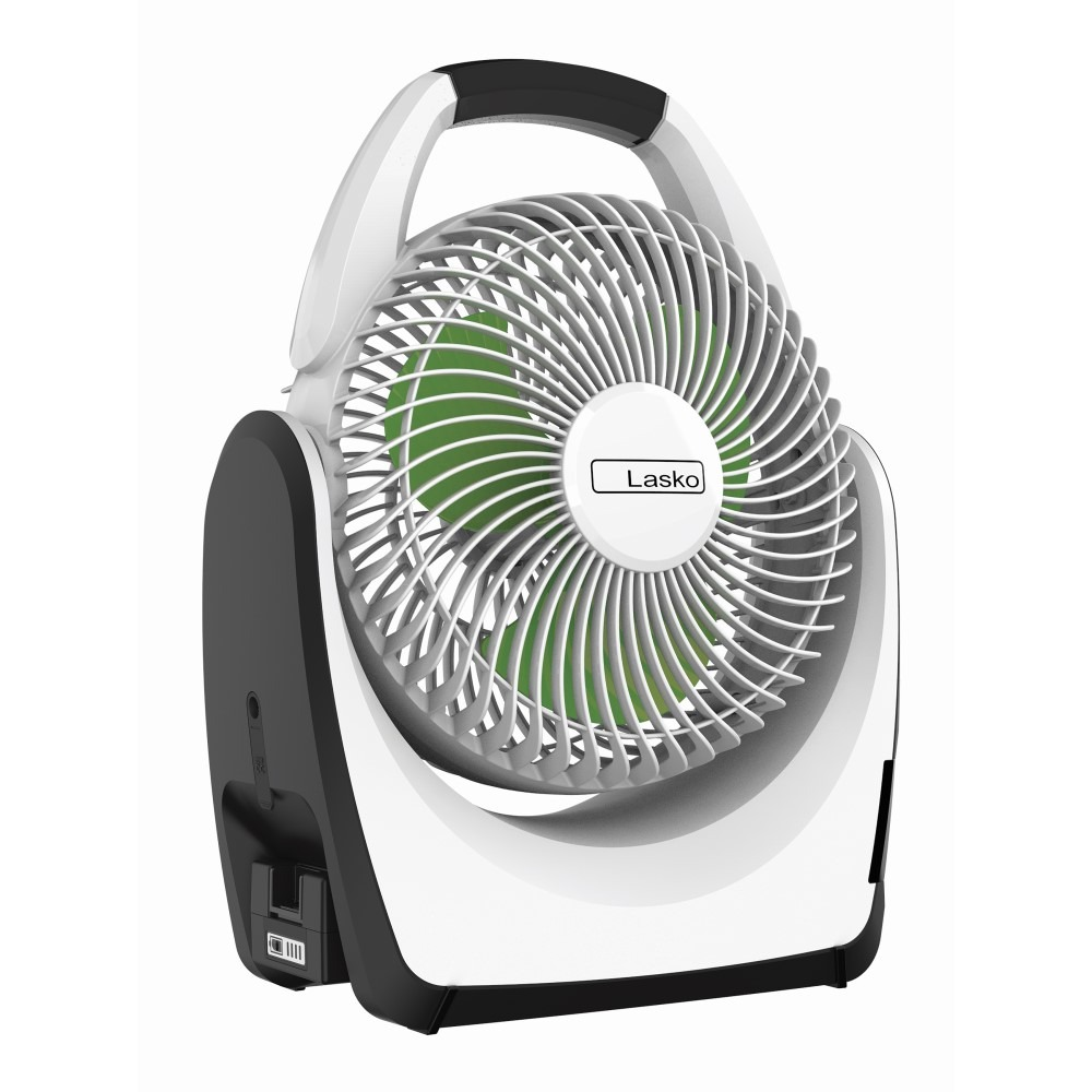 Lasko Outdoor Rechargeable Battery Fan Model RB200