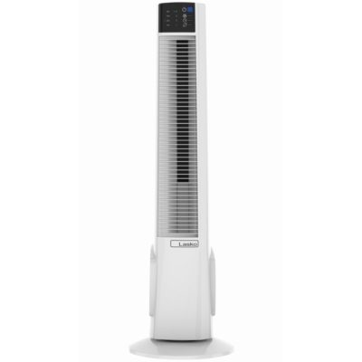 Front view of Lasko Hybrid Tower Fan with Remote Control Model T38400