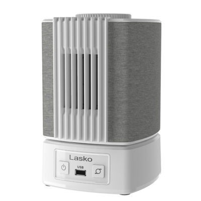 Lasko SB101 Slumber Breeze 2-in-1 Fan and White Noise Machine, white