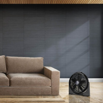 Lasko Cyclone Air Circulator Fan, model A20515 in modern living room